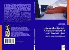 Buchcover von Lebenszufriedenheit, Arbeitszufriedenheit und Persönlichkeit