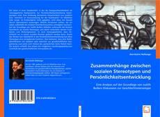 Buchcover von Zusammenhänge zwischen sozialen Stereotypen und Persönlichkeitsentwicklung