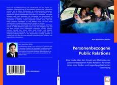 Buchcover von Personenbezogene Public Relations