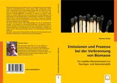 Buchcover von Emissionen und Prozesse bei der Verbrennung von Biomasse