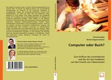 Buchcover von Computer oder Buch?