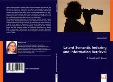 Обложка Latent Semantic Indexing and Information Retrieval