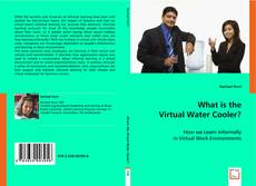 Capa do livro de What is the Virtual Water Cooler?
