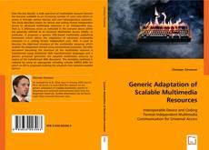Обложка Generic Adaptation of Scalable Multimedia Resources