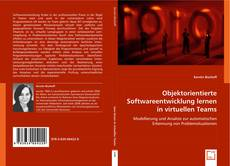 Bookcover of Objektorientierte Softwareentwicklung lernen in virtuellen Teams
