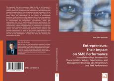 Entrepreneurs: Their Impact on SME Performance kitap kapağı