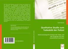 Bookcover of Qualitative Studie zum Todesbild der Polizei
