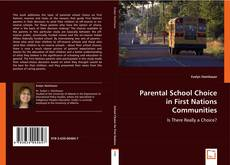 Parental School Choice in First Nations Communities的封面
