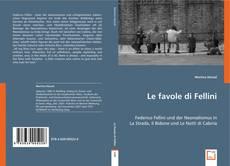 Couverture de Le favole di Fellini