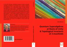 Bookcover of Quantum Superalgebras at Roots of Unity & Topological Invariants of 3-manifolds