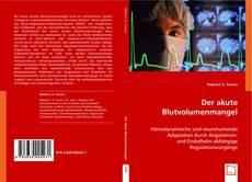 Bookcover of Der akute Blutvolumenmangel