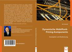 Capa do livro de Dynamische Mobilfunk-Pricing-Komponente