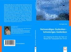 Capa do livro de Notwendiges Gedenken - Schwieriges Gedenken