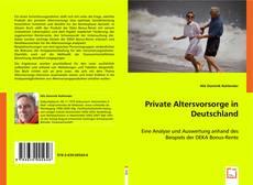 Bookcover of Private Altersvorsorge in Deutschland