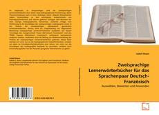 Couverture de Zweisprachige Lernerwörterbücher für das Sprachenpaar Deutsch-Französisch