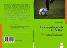 Leistungsdiagnostik im Fußball kitap kapağı