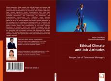 Couverture de Ethical Climate and Job Attitudes