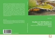 Portada del libro de Studies on Nitrification in Aquatic Sediments