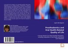 Buchcover von Prosthodontics and Oral Health-Related Quality of Life