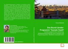 "Borítókép a  Das Bund-Länder-Programm ""Soziale Stadt"" - hoz"