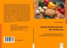 Couverture de Soziale Determinanten der Ernährung