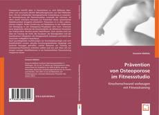 Bookcover of Prävention von Osteoporose im Fitnessstudio