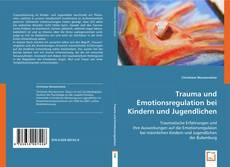 Portada del libro de Trauma und Emotionsregulation bei Kindern und Jugendlichen