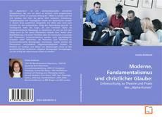 Capa do livro de Moderne, Fundamentalismus und christlicher Glaube: