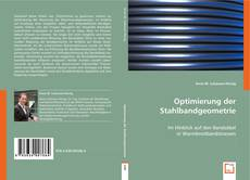 Capa do livro de Optimierung der Stahlbandgeometrie