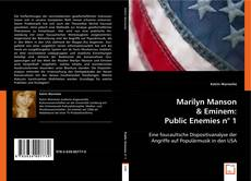 Bookcover of Marilyn Manson & Eminem: Public Enemies n° 1
