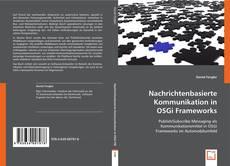 Capa do livro de Nachrichtenbasierte Kommunikation in OSGi Frameworks