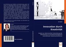 Bookcover of Innovation durch Kreativität
