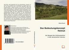 Bookcover of Das Bedeutungskonzept Heimat