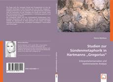 "Buchcover von Studien zur Sündenmetaphorik in Hartmanns ""Gregorius"""