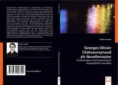 Buchcover von Georges-Olivier Châteaureynaud als Novellenautor