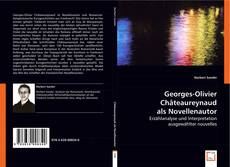 Copertina di Georges-Olivier Châteaureynaud als Novellenautor