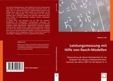 Portada del libro de Leistungsmessung mit Hilfe von Rasch-Modellen