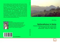 Capa do livro de Nationalismus in Kenia
