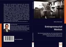 Portada del libro de Entrepreneurial Motion
