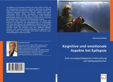 Buchcover von Kognitive und emotionale Aspekte bei Epilepsie