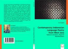 Capa do livro de Contemporary Indonesian Language Poetry from West Java