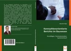 Обложка Kennzahlenorientierte Berichte im Bauwesen