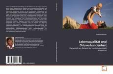 Portada del libro de Lebensqualität und Ortsverbundenheit