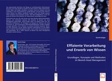 Bookcover of Effiziente Verarbeitung  und Erwerb von Wissen