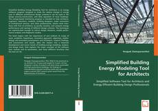 Buchcover von Simplified Building Energy Modeling Tool for Architects