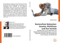Обложка Barrierefreie Webseiten: Gesetze, Richtlinien und ihre Vorteile