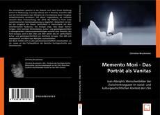 Buchcover von Memento Mori - Das Porträt als Vanitas