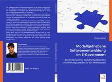Bookcover of Modellgetriebene Softwareentwicklung im E-Government