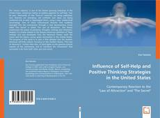 Bookcover of Influence of Self-Help and Positive Thinking Strategies in the United States