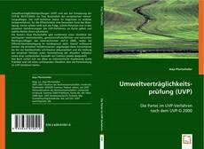 Buchcover von Umweltverträglichkeitsprüfung (UVP)
